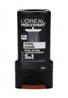 Dušo želė L´Oréal Paris Men Expert Total Clean Shower Gel 300ml 5 in 1 Dušo želė