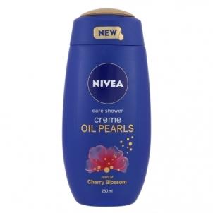 Dušo žele Nivea Creme Oil Pearls Shower Gel Cherry Blossom Cosmetic 250ml