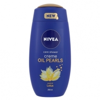 Dušo žele Nivea Creme Oil Pearls Shower Gel Lotus Cosmetic 250ml