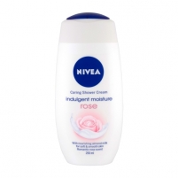 Dušo žele Nivea Creme Rose Cream Shower Cosmetic 250ml