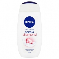 Dušo želė Nivea Diamond Touch 250ml Dušo želė