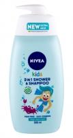 Shower gel Nivea Kids 2in1 500ml Magic Apple Scent Shower gel