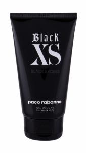 Shower gel Paco Rabanne Black XS Shower gel vyrams 150ml Shower gel