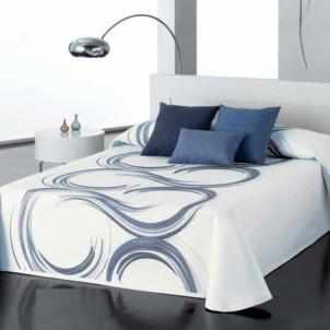 Dvipusis lovos užtiesalas Žibuoklių Splavos, 250x270 cm