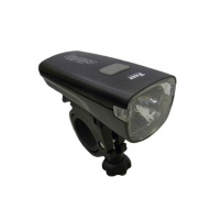 Dviračio apšvietimas A-Lumina 1W (silver/black) Lights for bicycles