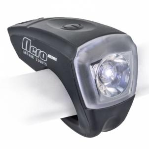 Dviračio apšvietimas A-Nero Mini USB black Lights for bicycles