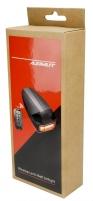 Dviračio signalizacija + galinė lempa Remote Azimut USB Gaismas velosipēdi