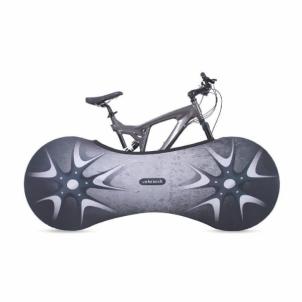 Dviračio uždengimas, vidaus VELOSOCK Indoor bike cover SPORT PRO Silverbird Dviračių priedai