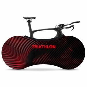 Dviračio uždengimas, vidaus VELOSOCK Indoor bike cover TRIATHLON Limitless Dviračių priedai