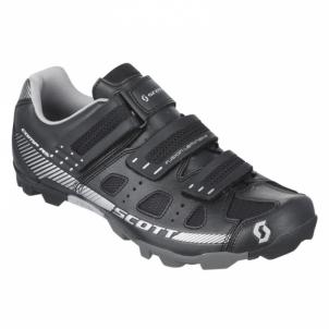 Dviratininko bateliai Scott MTB Comp RS Lady black/silver size 40 Dviratininko marškinėliai, kelnės ir kita