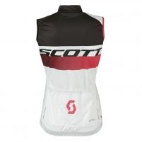 Dviratininko marškinėliai (moteriški) Scott Shirt RC Pro w/o SL white/teaberry pink size M Dviratininko marškinėliai, kelnės ir kita