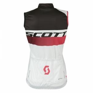 Dviratininko marškinėliai (moteriški) Scott Shirt RC Pro w/o SL white/teaberry pink size XS Dviratininko marškinėliai, kelnės ir kita