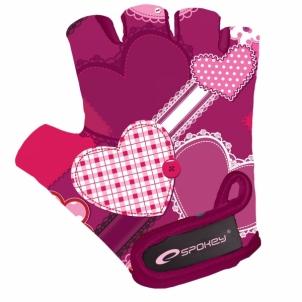 Dviratininko pirštinės Spokey Heart Glove Dviratininkų pirštinės