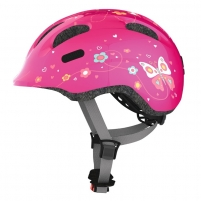Dviratininko šalmas Smiley 2.0 pink butterfly S