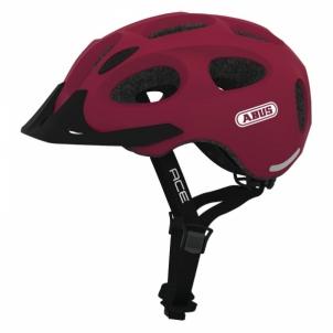Dviratininko šalmas Youn I Ace cherry red M Bicycle helmets