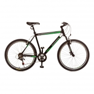 Dviratis 21 speed Power 2.3V Black-Green Kalnų (MTB) dviračiai