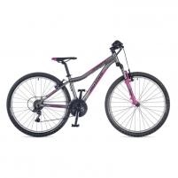 Dviratis A-Matrix 26 Ritual Silver matte // Suzy Pink 26 Paauglių dviračiai