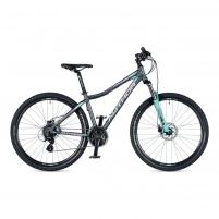 Dviratis Author Impulse ASL Temple Grey matte/ Menthol Green matte 16 Kalnų (MTB) dviračiai