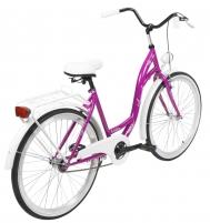 Velosipēds AZIMUT City Lux 26 2020 violet-white Pilsētas velosipēdi