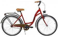 Velosipēds AZIMUT Classic 26 2020 bordo Pilsētas velosipēdi