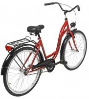 Dviratis AZIMUT Classic 26 2021 bordo Miesto dviračiai