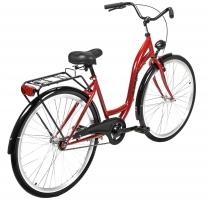 Dviratis AZIMUT Classic 28 2021 bordo Miesto dviračiai
