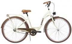 Dviratis AZIMUT Classic 28 2021 cream Miesto dviračiai