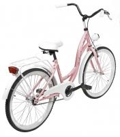 Dviratis AZIMUT Julie 24 2020 pink-white Paauglių dviračiai