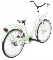 Dviratis AZIMUT Julie 24 2020 white-mint Paauglių dviračiai