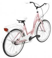 Dviratis AZIMUT Julie 24 Nexus3 2020 pink-white Paauglių dviračiai