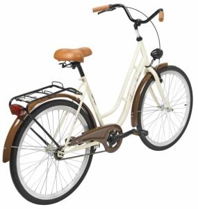 Dviratis moterims AZIMUT Retro 26 2021 cream Miesto dviračiai