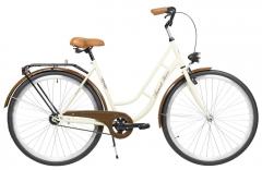 Dviratis AZIMUT Retro 28 2020 cream Miesto dviračiai