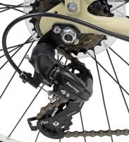 Dviratis AZIMUT Sarema ALU 28 TX 6-speed 2019 cream City bikes