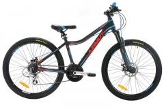 Dviratis AZIMUT Space Disc 26 GTS 2019 black 15 Mountain bikes (mtb)