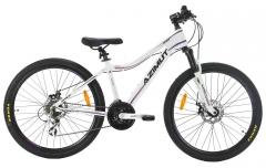 Dviratis AZIMUT Space Disc 26 LDS 2019 white Mountain bikes (mtb)