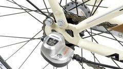 Dviratis AZIMUT Vintage 26 Nexus-3 2019 cream-brown City bikes