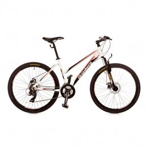 Dviratis Forward 26er 21sp Ws White/pink Mountain bikes (mtb)
