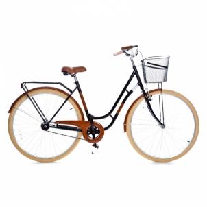 Dviratis Holland single speed, black/brawn 28 City bikes