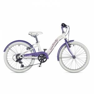Dviratis Melody Jeweled White // Fresh Lila 20 Bikes for kids