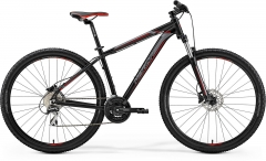 Dviratis Merida BIG.NINE 20-D 2019 matt black L(19) 29er dviračiai