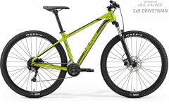 Dviratis Merida BIG.NINE 200 2019 glossy olive XXL(22) 29er dviračiai