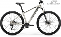 Dviratis Merida BIG.NINE 80-D 2019 matt titan L(19) 29er bikes