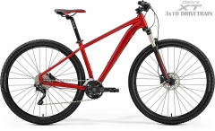 Dviratis Merida BIG.NINE 80-D 2019 silk red 29er bikes