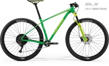 Dviratis Merida BIG.NINE LIMITED 2018 green 29er bikes