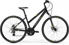 Dviratis Merida CROSSWAY 15-MD Lady 2018 black Hibridiniai (Cross) dviračiai