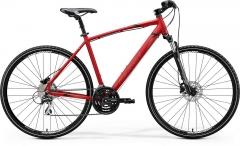 Dviratis Merida CROSSWAY 20-D 2020 matt red Hybrid (cross) bikes