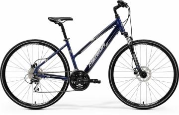 Dviratis Merida CROSSWAY 20-D Lady 2017 dark blue 50cm Hibridiniai (Cross) dviračiai
