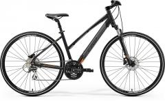 Dviratis Merida CROSSWAY 20-D Lady 2019 matt black XS(42) Hybrid (cross) bikes