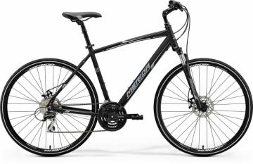 Dviratis Merida CROSSWAY 20-MD 2018 black Hibridiniai (Cross) dviračiai