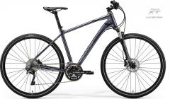 Velosipēds Merida CROSSWAY 500 2020 glossy anthracite Hibrīdu (Cross) velosipēdi